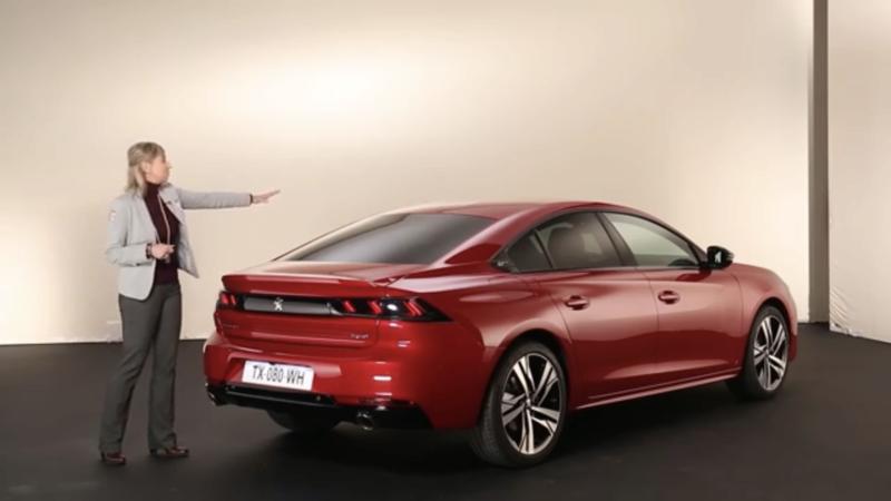 2018- [Peugeot] 508 II [R82/R83] Dcc22010