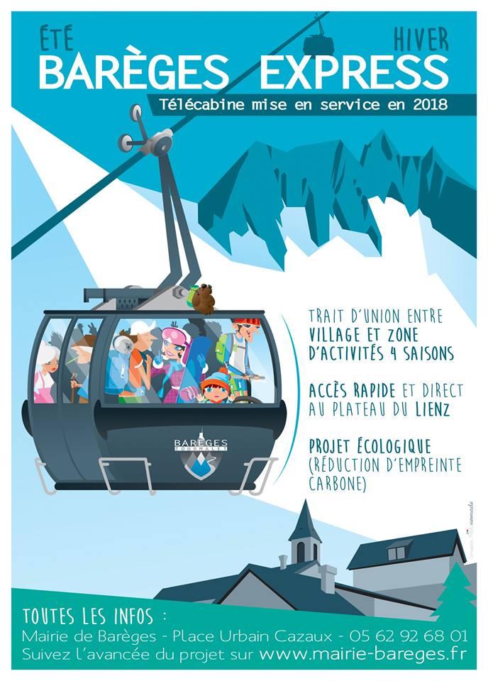 Construction Télécabine du Lienz TCD10 Barèges 18195010