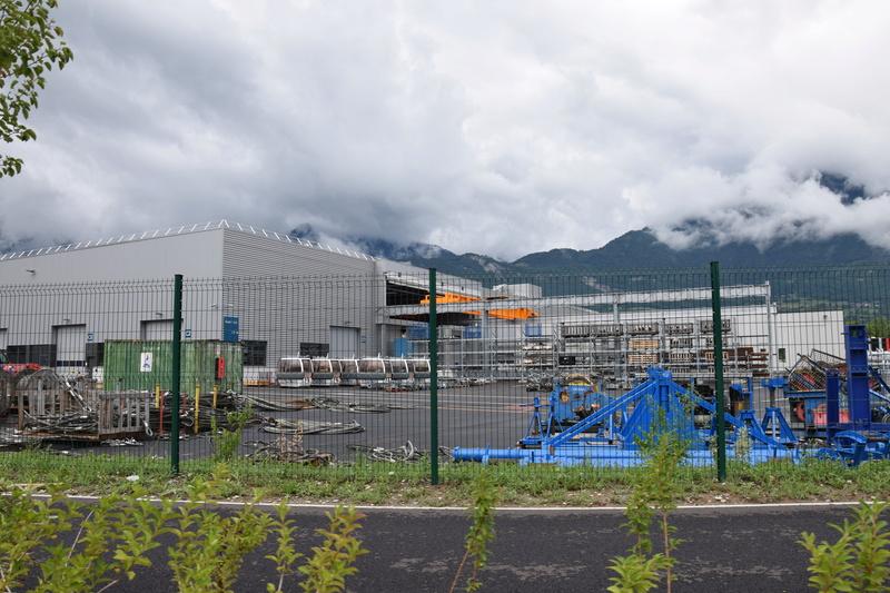 Nouveau site industriel Poma à Gilly sur Isère Dsc_0519