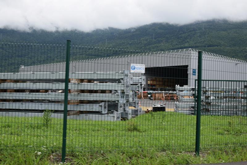 Nouveau site industriel Poma à Gilly sur Isère Dsc_0520