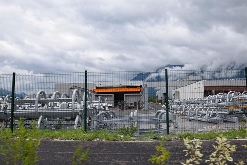 Nouveau site industriel Poma à Gilly sur Isère Dsc_0523