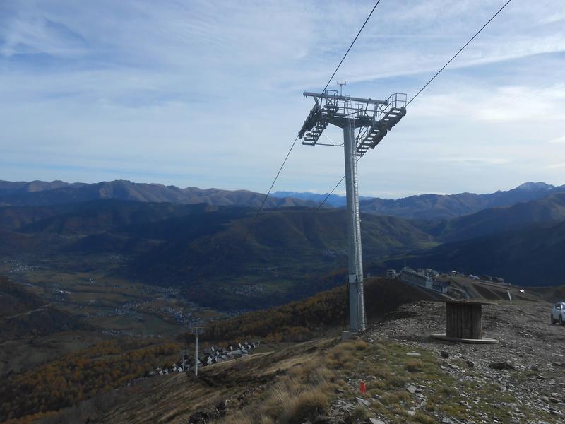 Construction du télésiège débrayable 6 places (TSD6) Bouleaux Dscn3320