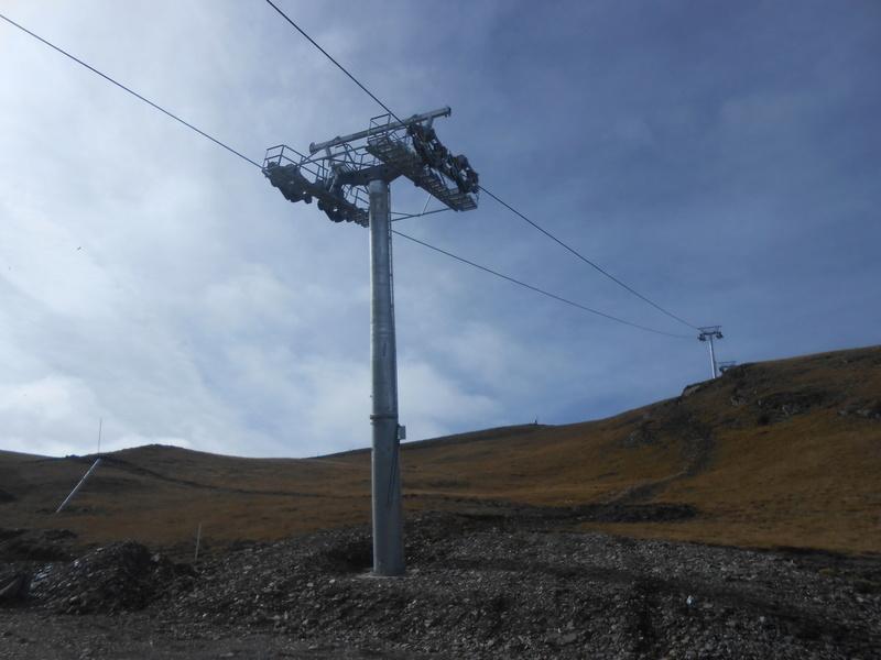 Construction du télésiège débrayable 6 places (TSD6) Bouleaux Dscn3413