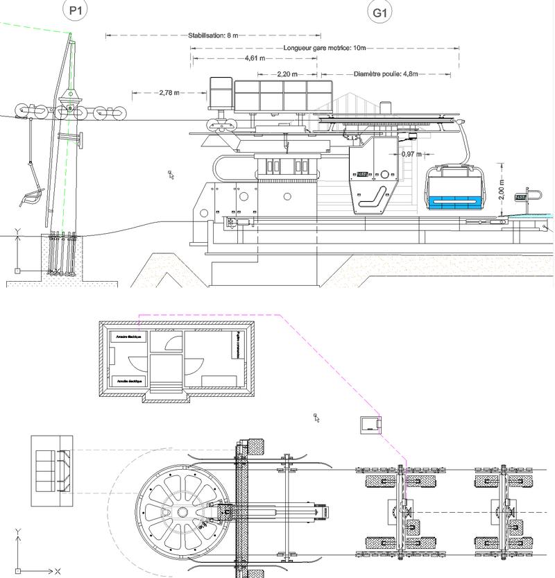 Dessins techniques, Plans 2D remontées mécaniques - Page 2 Lst_pl10