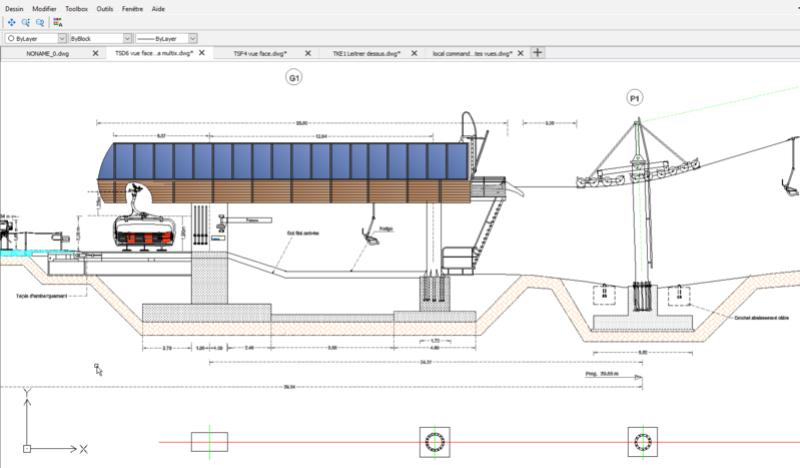 Dessins techniques, Plans 2D remontées mécaniques - Page 2 Lst_pl14