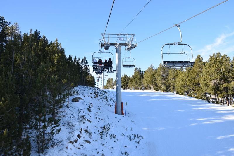 Télésiège fixe 4 places (TSF4) Col del Pam P6-tsf13