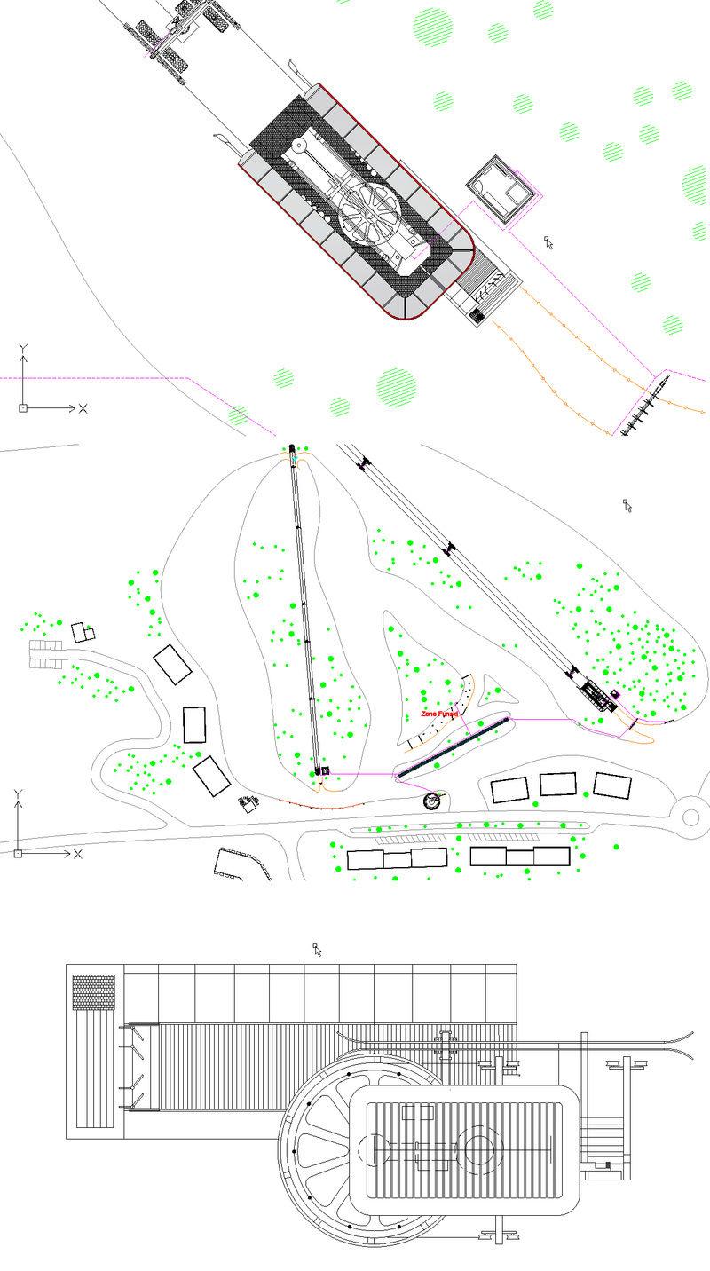Dessins techniques, Plans 2D remontées mécaniques - Page 2 Plan_110