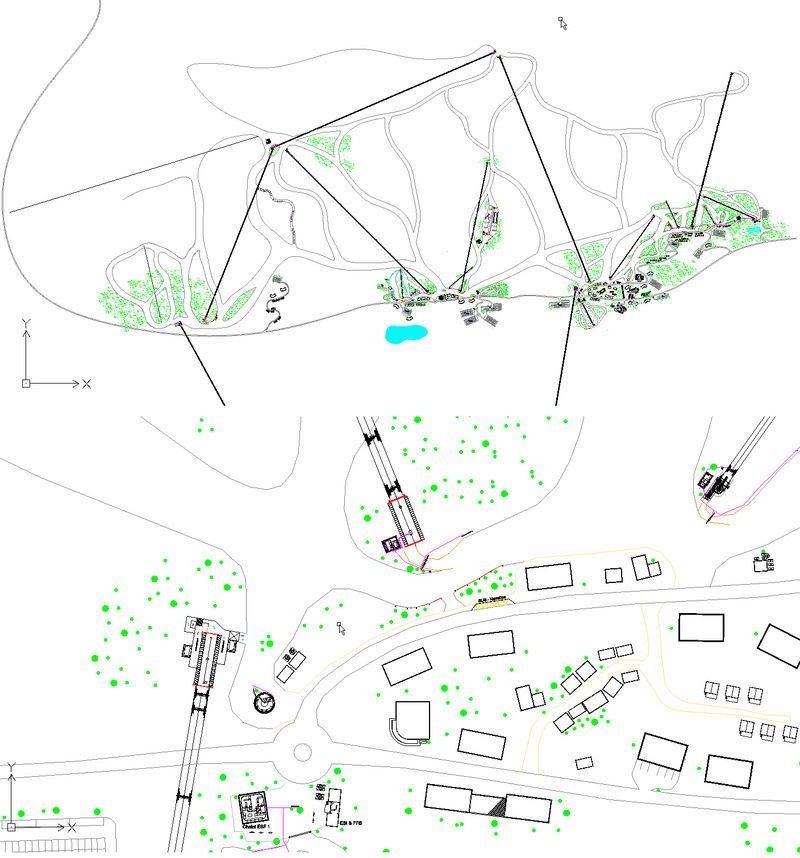 Dessins techniques, Plans 2D remontées mécaniques - Page 2 Plan_111