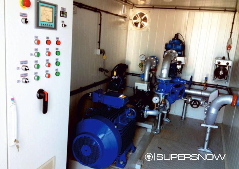 Stations de pompage Supersnow Pompag10