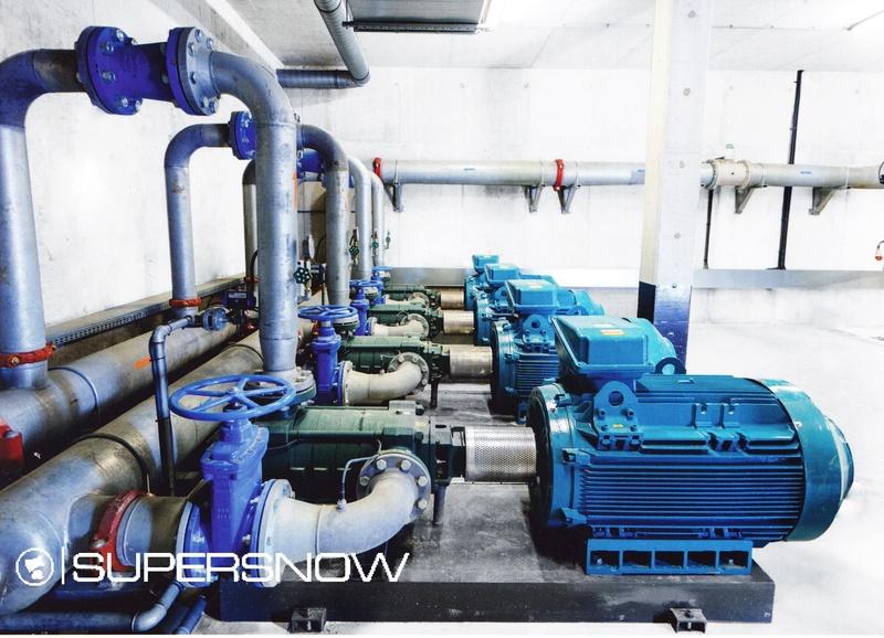 Stations de pompage Supersnow Pompag12