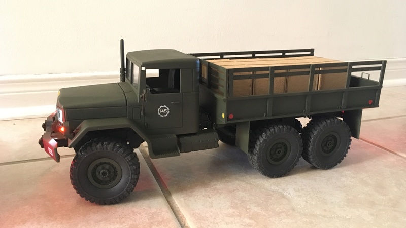 Hand made US conex container (Vietnam) Convoy11