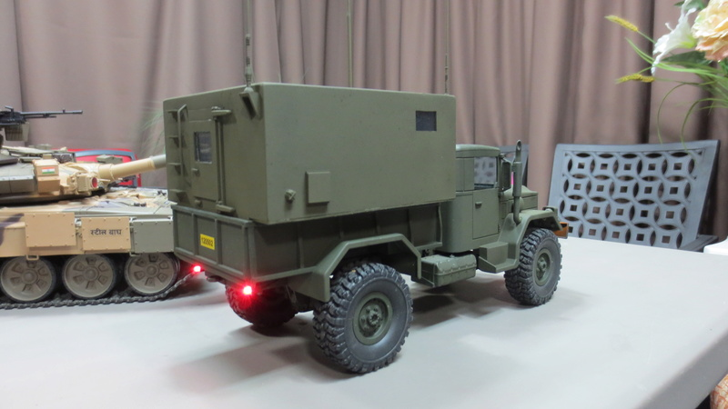 RC M35A2 Mobile Command Station Img_1214