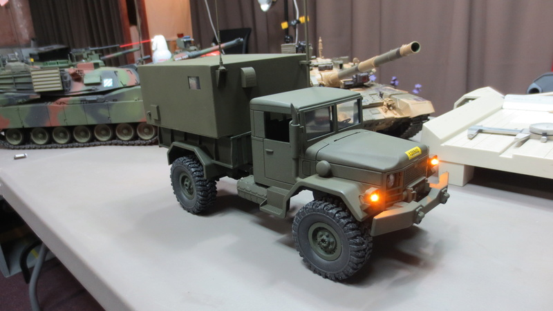 RC M35A2 Mobile Command Station Img_1215
