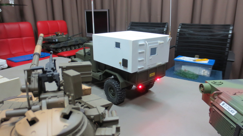 RC M35A2 Mobile Command Station Img_1219