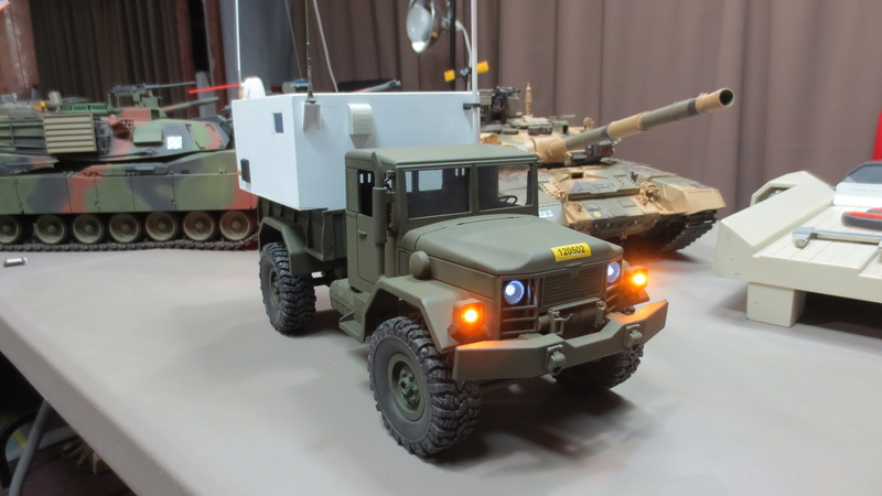 RC M35A2 Mobile Command Station Img_1221
