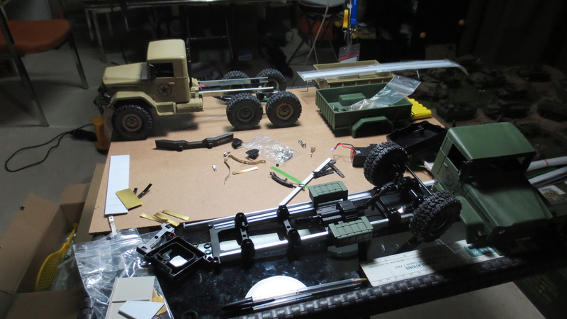 Project M35A2 truck 6x6 Img_1313