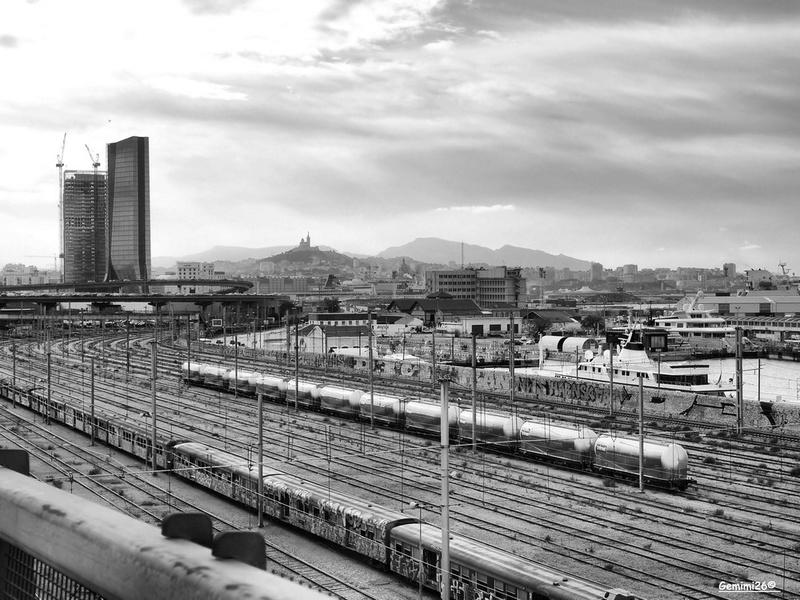 Arrivée sur Marseille Pb090216