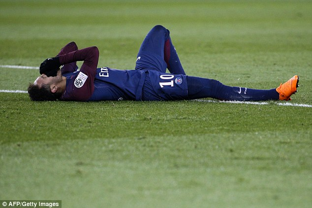 Neymar undergoes successful surgery on broken metatarsal as race to be fit for World Cup 2018 begins 49ace710