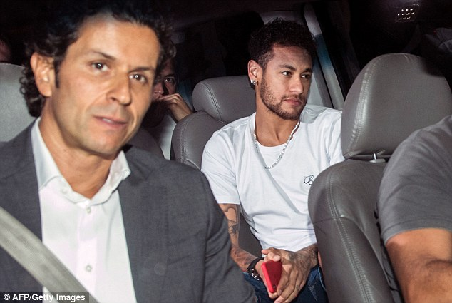 Neymar undergoes successful surgery on broken metatarsal as race to be fit for World Cup 2018 begins 49c36b10