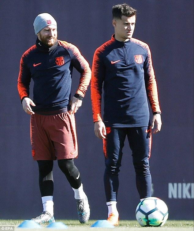 Barcelona squad prepare for pivotal Atletico Madrid test 49c3b312