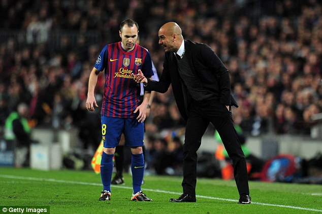 Pep Guardiola plotting summer move for Andres Iniesta 49cad110