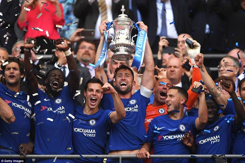 Chelsea 1-0 Manchester United: Hazard scores from the spot to win FA Cup 4c711f10