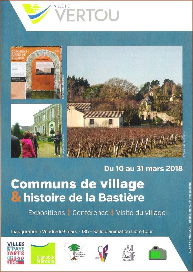 Communs de village & histoire de la Bastière Flyer_10
