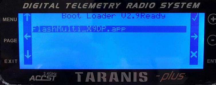 "[Tuto] Mettre à jour son module TX ""Multi STM32"" depuis sa radio Multi210"