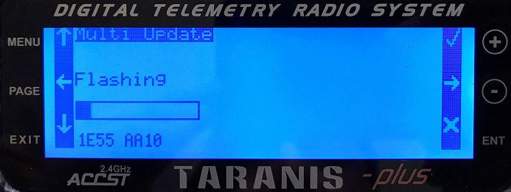 "[Tuto] Mettre à jour son module TX ""Multi STM32"" depuis sa radio Multi410"