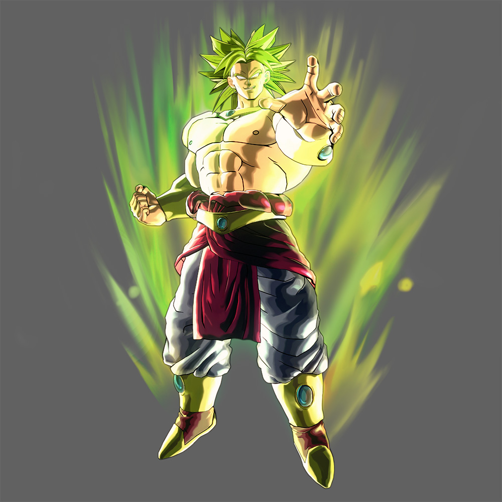 Broly Attributes in Xenoverse  Brolyx10