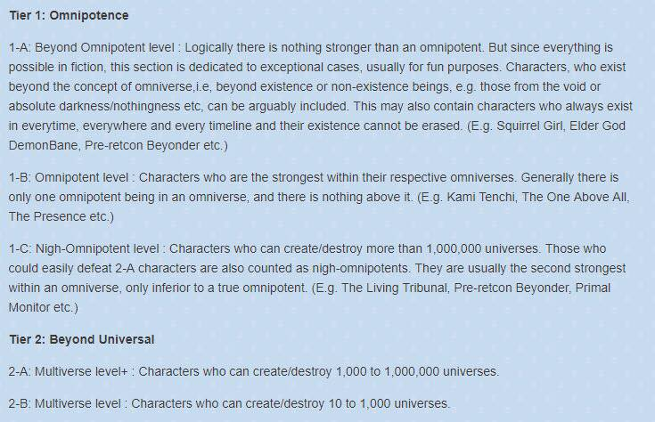 Vsbattles Wiki Exposed: They placed Pre-Retcon Beyonder at Beyond Omnipotent! Downlo10