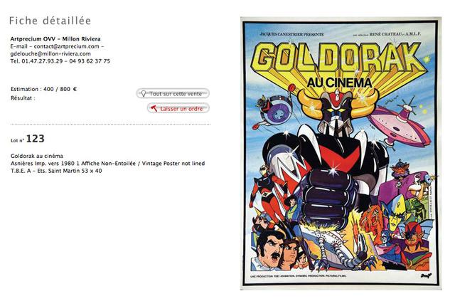 Topic officiel GOLDORAK - Goldrake - Grendizer - Shogun - Page 38 Goldor12