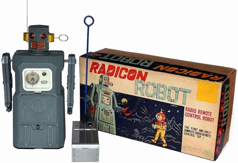 Radicon Robot Masudaya 1957 Radico10