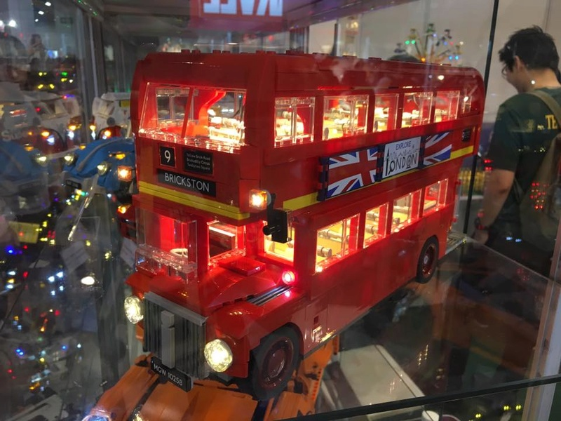 Lighting Kit For LEGO 10258 London Bus London10