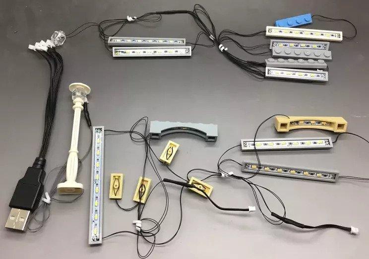 Lighting Kit For Market Place 10190 Market10