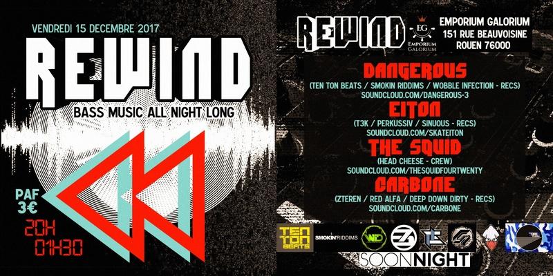 REWIND _____ EMPORIUM GALORIUM, Rouen _ 15 DECEMBER 2017 Rewind11