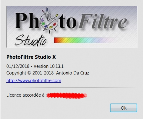 """Aide à l'installation  ""Photofiltre Studio"" A_chan11"