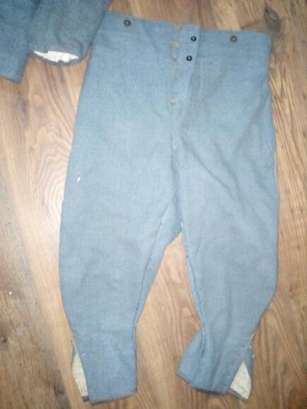 Authentification vareuse et culotte bleu horizon  06aa9610