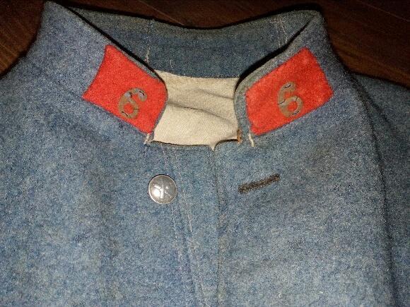 Authentification vareuse et culotte bleu horizon  06c67210