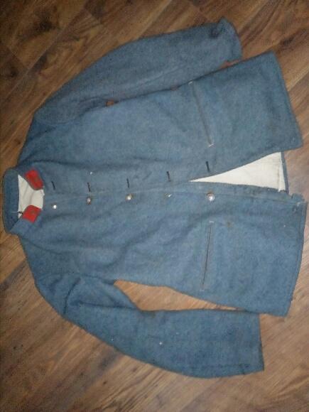 Authentification vareuse et culotte bleu horizon  07f7b210