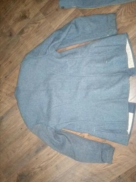 Authentification vareuse et culotte bleu horizon  08071510