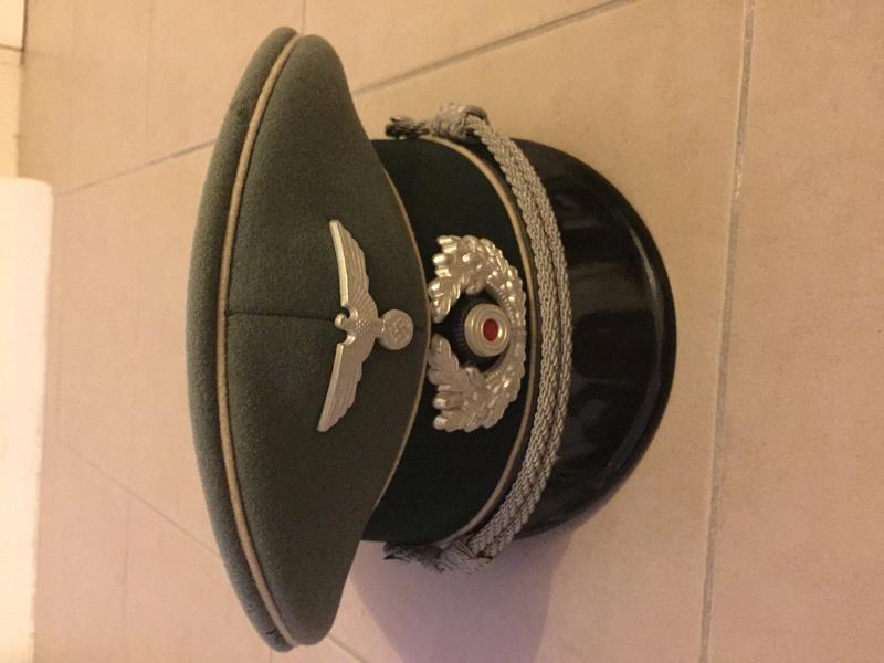 Casquette officier heer 40d7c210