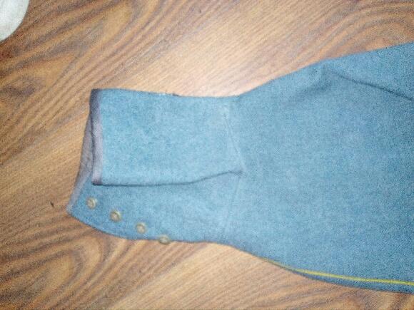 Authentification vareuse et culotte bleu horizon  63bc8610