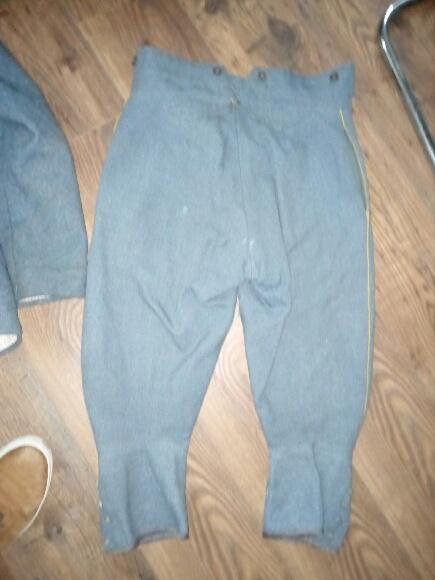 Authentification vareuse et culotte bleu horizon  6d7cc110