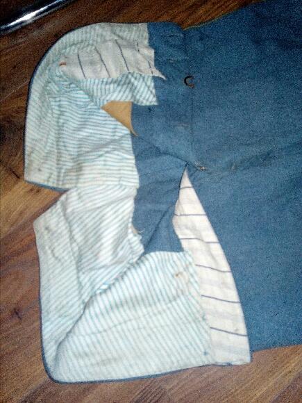 Authentification vareuse et culotte bleu horizon  A752a610