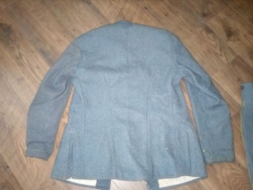 Authentification vareuse et culotte bleu horizon  A894ef10