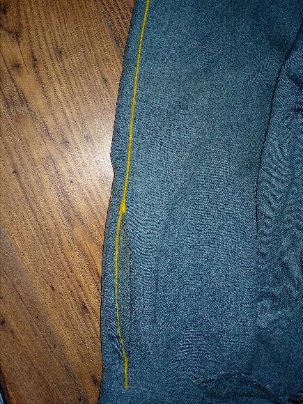 Authentification vareuse et culotte bleu horizon  C9a4de10