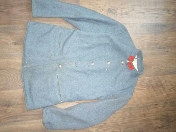 Authentification vareuse et culotte bleu horizon  E9b70810