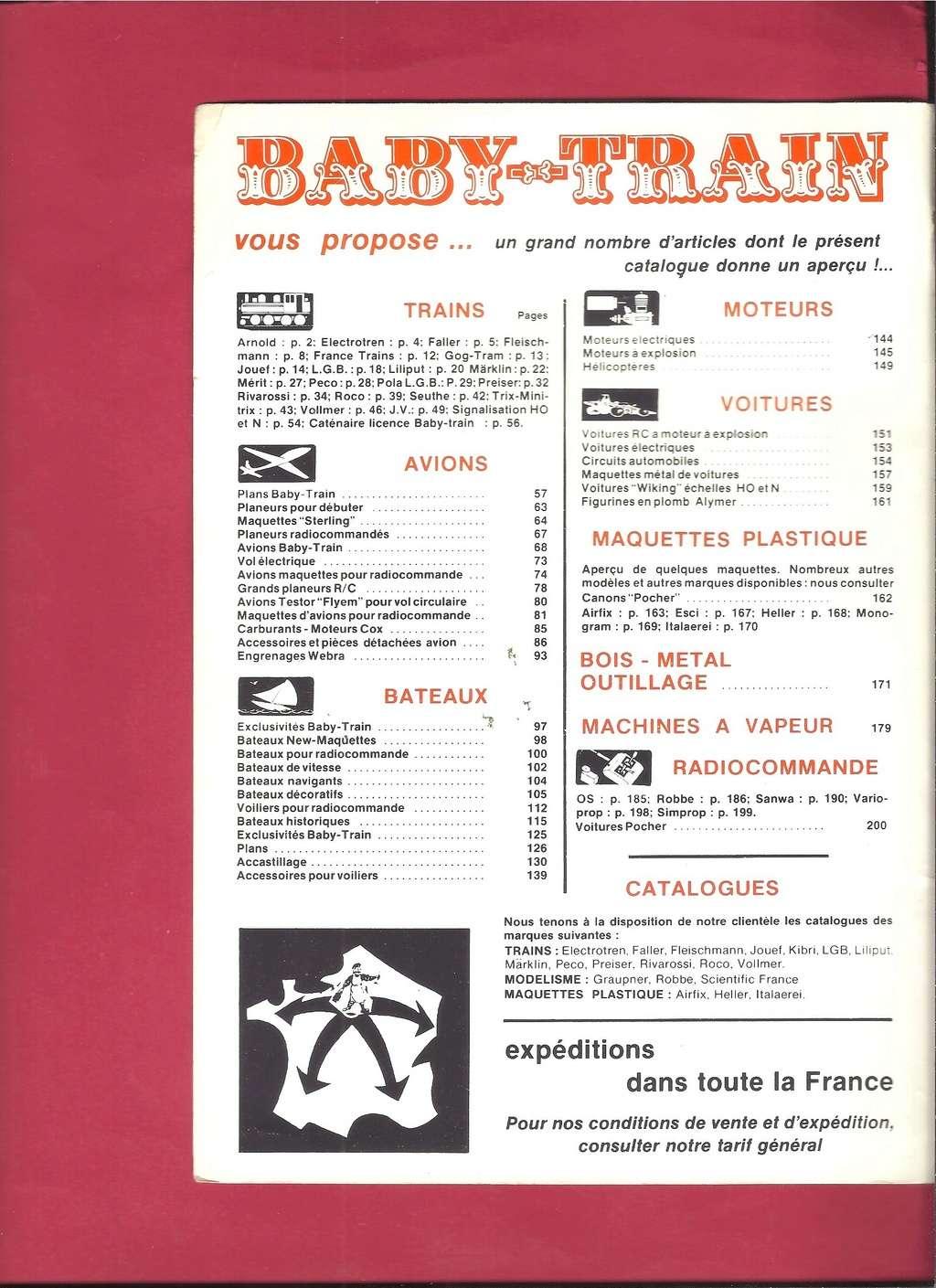 [BABY TRAIN 1979] Catalogue 27ème année 1979 Baby_158