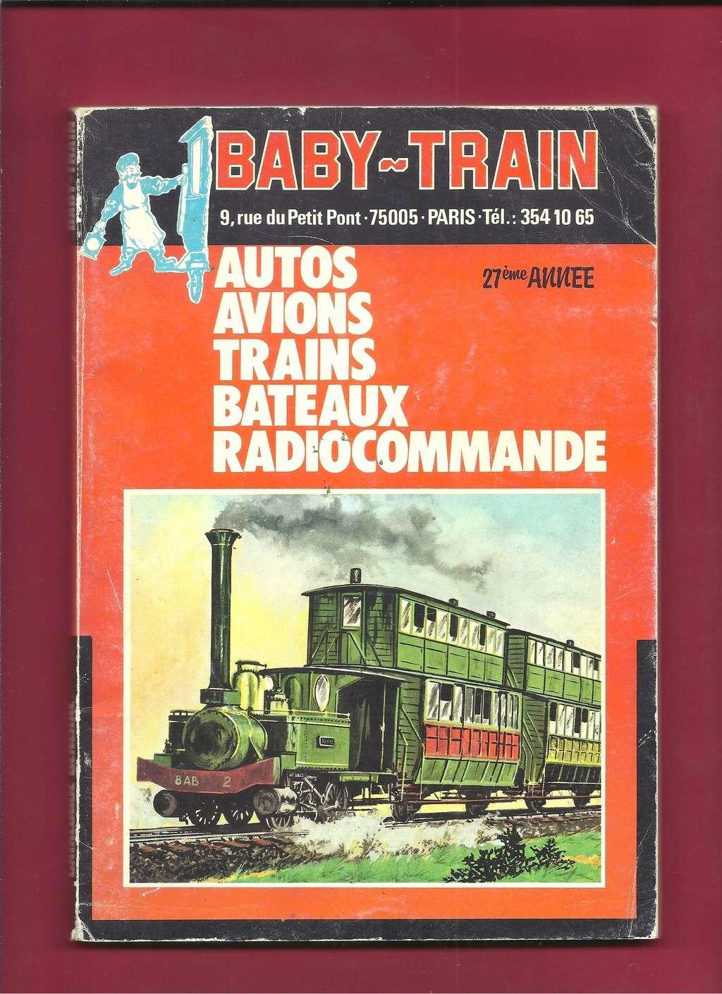 [BABY TRAIN 1979] Catalogue 27ème année 1979 Baby_163